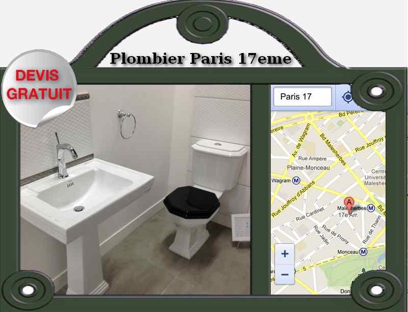 artisan plombier entreprise paris 17 plomberie paris. Black Bedroom Furniture Sets. Home Design Ideas