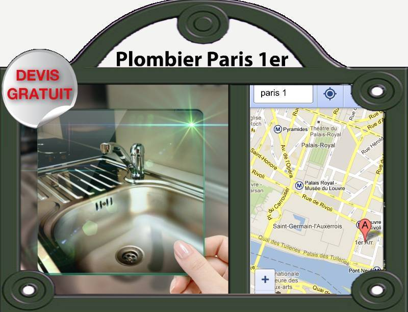 L'équipe d'artisan plombier Paris 1 est à votre écoute pour tous vos dépannages de plomberie, elle intervient dans tous le 75001 pour vos débouchage de WC, le dégorgement de vos canalisations le remplacement de toute robinetterie etc.En nous contactant vous obtiendrez un devis gratuit.