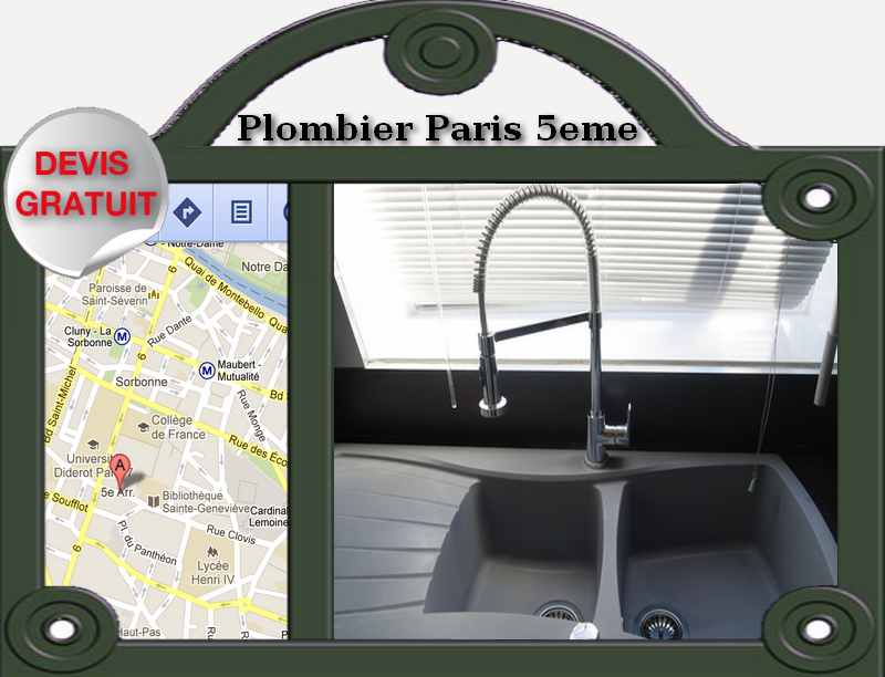 entreprise plomberie paris 5 artisan plomberie paris. Black Bedroom Furniture Sets. Home Design Ideas